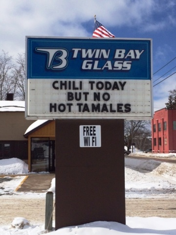 CHILI TODAY BUT NOW HOT TAMALES
