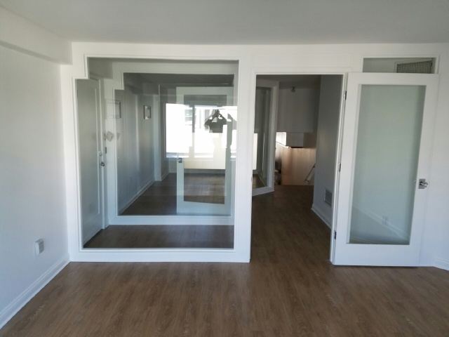 Commercial glass walls
