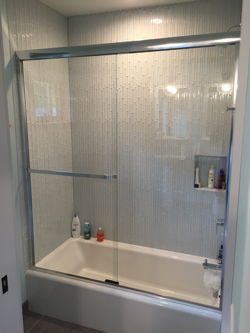 shower doors and enclosures - twin bay glass