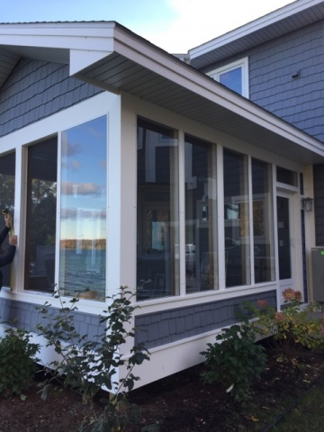 Comments Off On Screened Porch Gets New Storm Windows
